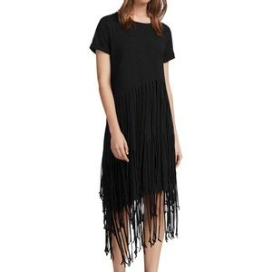 All Saints Tammy layered dress NWT
